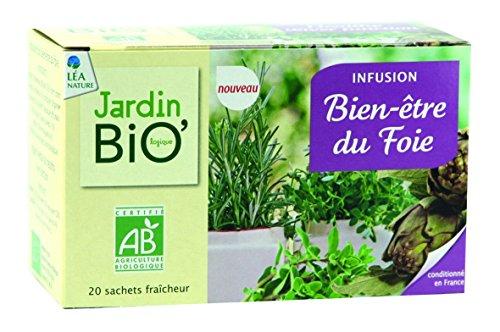 Jardin Bio Infusion Bien-Être du Foie 28 g
