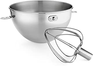 KitchenAid 凯膳怡 KN3CW 3夸脱(约2.8L)不锈钢碗&搅拌头 Bowl-Lift 型号KV25G和KP26M1X
