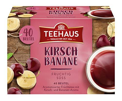 Teehaus Kirsch-Banane (Teebeutel), 6er Pack (6 x 90 g)