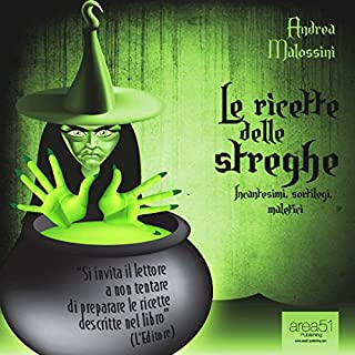 Le ricette delle streghe [The Recipes of Witches] cover art