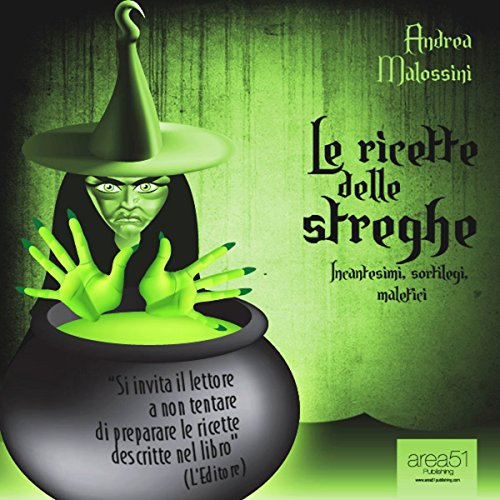 Le ricette delle streghe [The Recipes of Witches] audiobook cover art