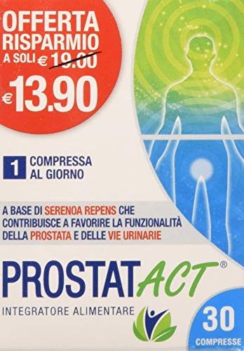 ACT Con05000 ProstatACT - Rosso 30 Compresse
