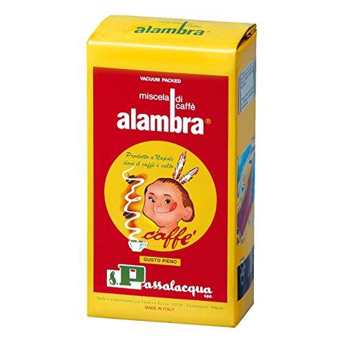 Caffè Passalacqua Alambra gr.250 (Gusto pieno) - Cartone 24 pezzi