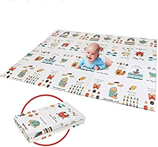 プレイマット折り畳み式プレイマット 子供のゲームパッド 育児 フロアマット 形状記憶 自宅 & 外遊び 滑り止め 防水 防音 衝撃吸収 プレゼントに大人気