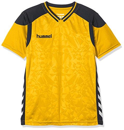 hummel Kinder Sirius Short Sleeve Jersey Trikot, Sports Gelb, 116-128