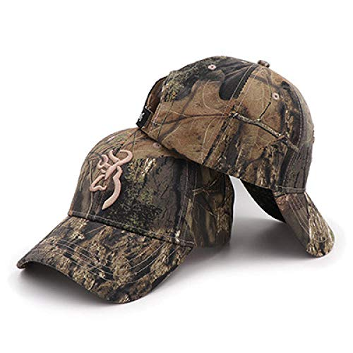 WEMAO Farben Sport Unisex Camping Camouflage Cap Browning Baseball Jagd Angeln Caps Jungle Tactical Wandern Camo Hats-KP1