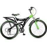 Hero Ranger Carbon-Steel Cycle (Black/Green)