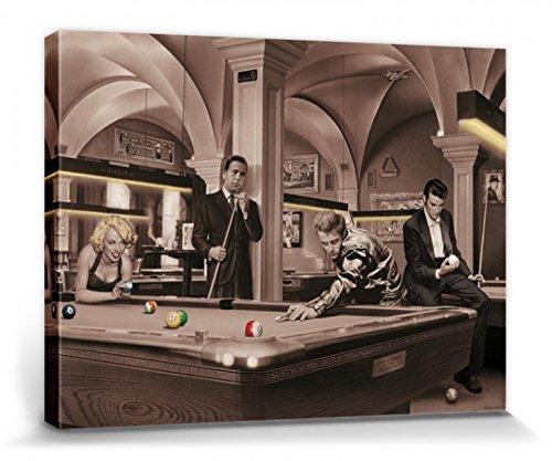 1art1 Chris Consani - Spiel des Schicksals Bilder Leinwand-Bild Auf Keilrahmen   XXL-Wandbild Poster Kunstdruck Als Leinwandbild 80 x 60 cm