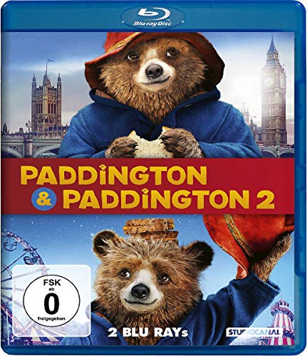 Paddington 1 & 2 [Blu-ray]