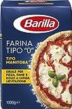 Barilla Farina di Grano Tenero Tipo 0 Tipo Manitoba per Pizza, Pane e Focaccia, 1 Kg