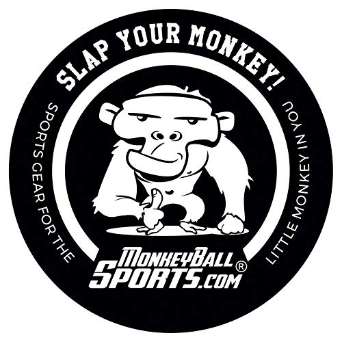 Slap Your Monkey! Tell The World to Go Play with Itself | Naughty Die Cut Vinyl Decal for Big Rigs, Windows, Cars, Trucks, Golf Carts | Spank Me | Funny & Kinky