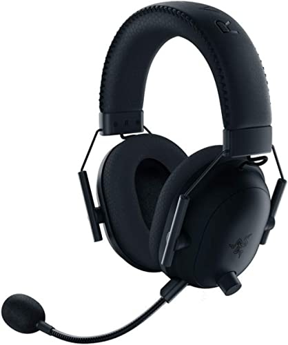 Razer BlackShark V2 Pro Wireless Gaming Headset: THX 7.1 Spatial Surround Sound - 50mm Drivers - Detachable Mic - for...