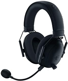Razer BlackShark V2 Pro Wireless Gaming Headset: THX 7.1 Spatial Surround Sound - 50mm Drivers - Detachable Mic - for PC, ...