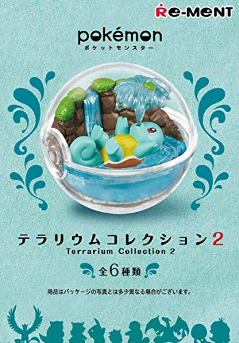 Unbekannt Re-Ment Pokemon Terrarium Collection Volume 2 1 Complete Full Box Set 6 Pcs