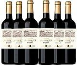 Collines Antiques - Vino denominación de origen controlada Burdeos, añada 2018, (6 botellas de 750 ml)
