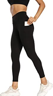 niyokki Scrunch Leggings with Pockets for Women, Tummy Control Butt Lifting Yoga Pants for Athletic Workout Hiking Running