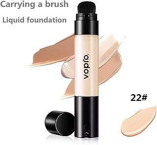 Corrector BB Cream crema hidratante de larga duración aclara el tono de la piel base líquida impermeable (22#)