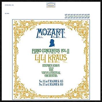 Mozart: Piano Concertos Nos. 11 & 17