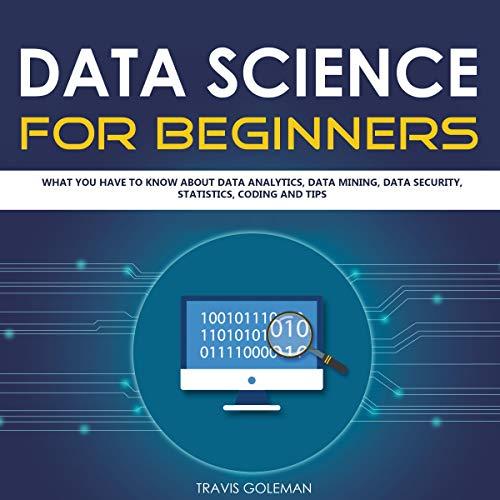 Data Science for Beginners audiobook cover art