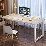 Computer DeskComputer Desk Laptop Table for Home Office Desktop Steel Frame Durable Simple Desk TableLaptop DeskModern StyleHome (Size:100 X60x72cm; Color:Color B)