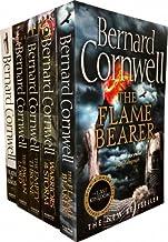 Bernard Cornwell Warrior Chronicles, The Last Kingdom Series 2 Books Set Collection Pack (5 Books Tiles are: Flame Bearer,...