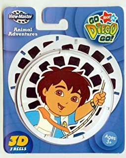 ViewMaster 3D Reels - Go Diego Go set by View Master