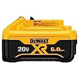 DEWALT 20V MAX Battery, Premium 6.0Ah (DCB206)