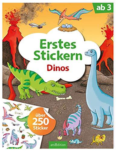 Erstes Stickern Dinos: Über 250 Sticker