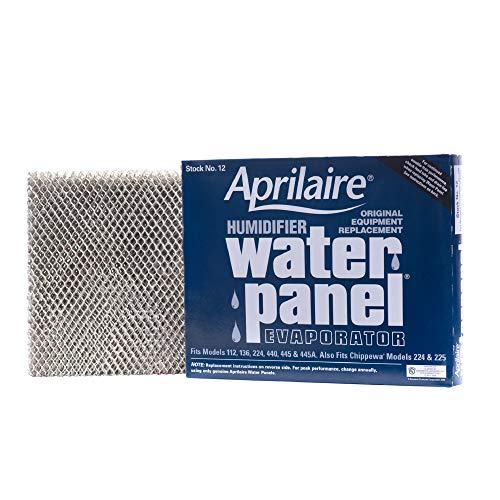 Aprilaire - 12 A1 12 Replacement Water Panel for Whole House Humidifier Models 112, 224, 225, 440, 445, 448 (Pack of 1)