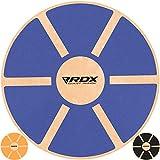 RDX Tabla de Equilibrio 40cm Antideslizante Redondo Balance Board Madera Entrenamiento Physio Yoga Fitness Pilates Sport Entrenador Ejercicio Gimnasio Deporte la Rehabilitación Física Terapia
