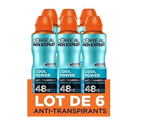 L'Oréal Men Expert Cool Power Déodorant Spray Homme - 200...