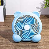 YLLN Fan USB Powered Mini Desk Fans Small Desk Fans USB Car Fan Little Fan Small Fan Small Fans Cooling Quiet Mini Fan Desk Fan Fan Small Fan Same Day Delivery Table Fans Blue