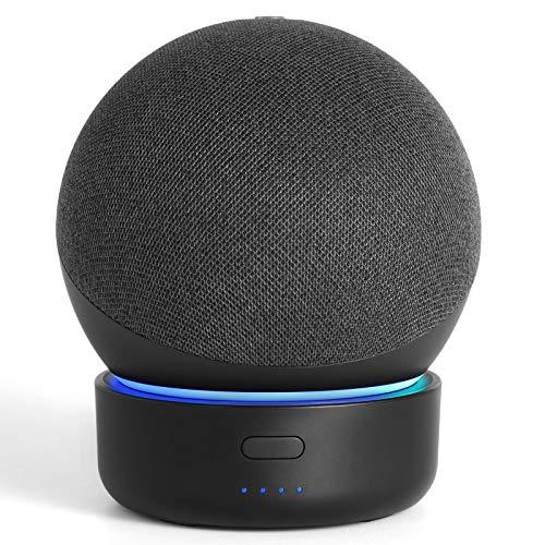 GGMM D4 Battery Base for Dot 4 to Make Dot 4 Portable, Black (Not Include The Speaker)
