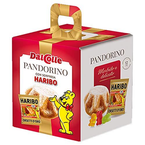 24 x MINI PANDORO DAL COLLE 62 GR PANDORINO PICCOLO CON SORPRESA REGALO NATALE