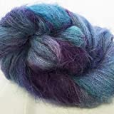 Halo Watercolors - Hand-Dyed Brushed Alpaca Yarn Lace Weight 257 yd / 25g #704 Picasso