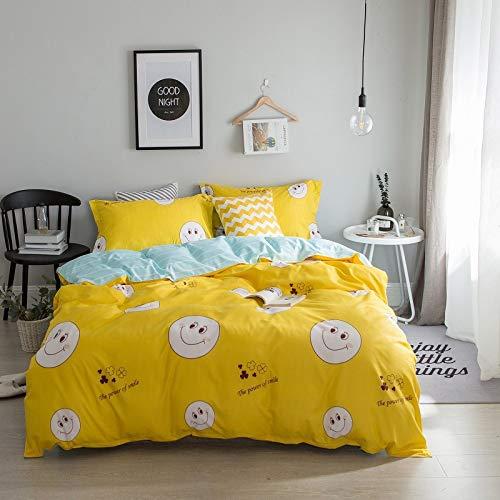 yaonuli 4-delige slaapzaal voor dekbedden, drie delen
