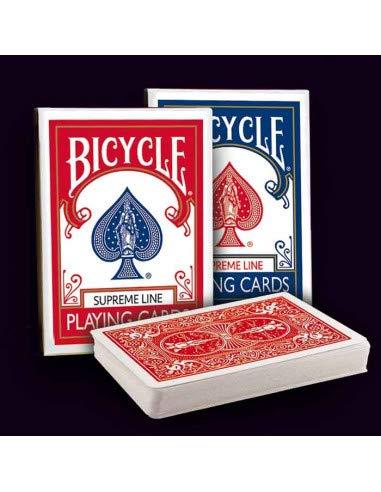 Bicycle - Supreme Line ( Due mazzi ,Uno Rosso e Uno Blu )