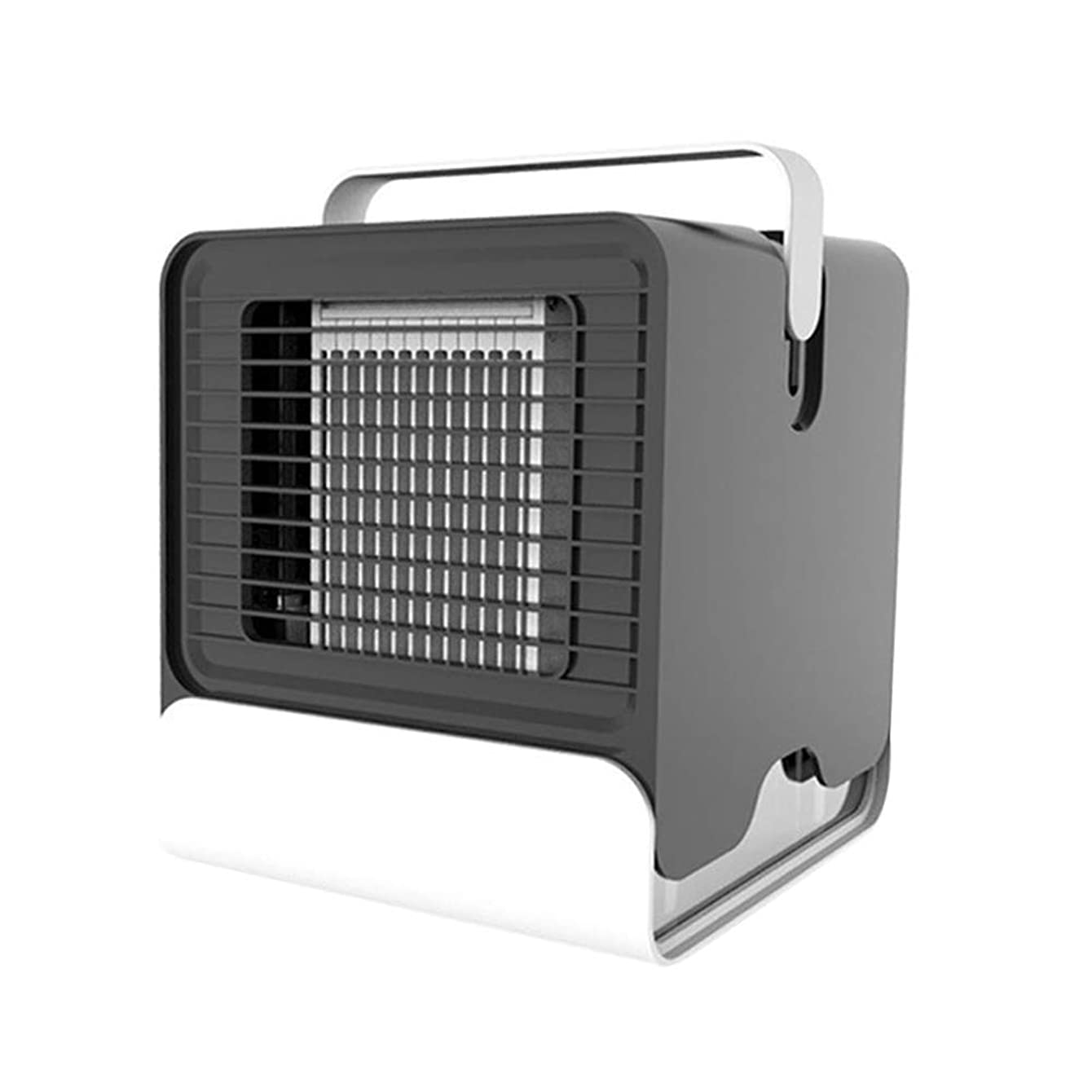 Gtest USB Mini Fan Arctic Air Ultra Compact Portable Air Cooler Mini Air Conditioner LED Night Light Car Accessories