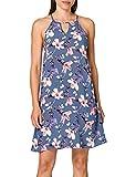 ONLY Damen Onlnova Life Limbo Dress AOP WVN Kleid, Vintage Indigo/AOP:Butterfly FLORAL, 38