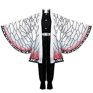 Gegexli Anime Demon Slayer Kimetsu No Yaiba Cosplay Costumes Kochou Shinobu Women Kimono Halloween Party