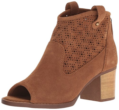 Dirty Laundry by Chinese Laundry Women's Trixie Ankle Boot, Camel Suede, 6.5 M US