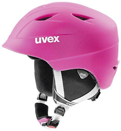 Uvex Kinder Airwing 2 pro Skihelm, pink mat, 48-52