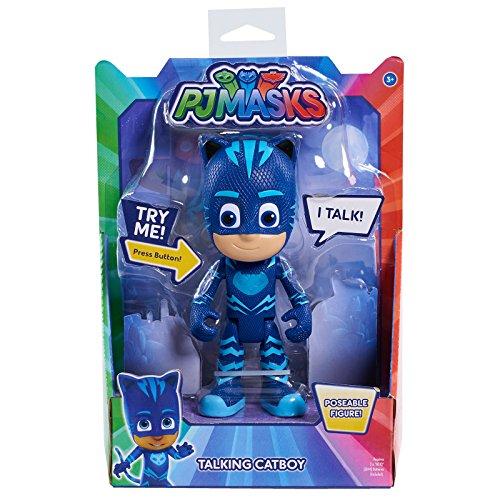 PJ Masks Deluxe Talking Cat Boy Figure