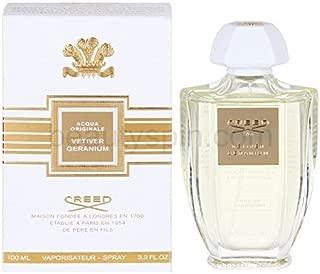 Creed Acqua Originale Vetiver Geranium 3.4 Fl. Oz. Eau De Parfum Spray Men by nmebrndprfme