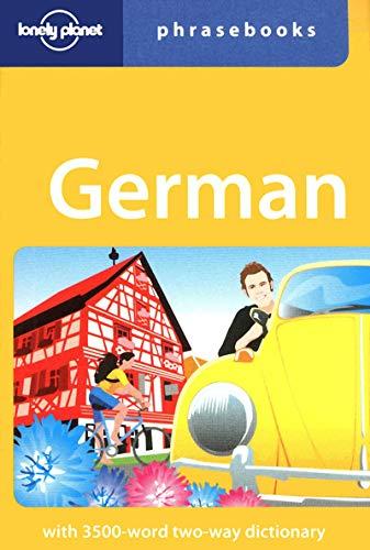 Lonely Planet German Phrasebook