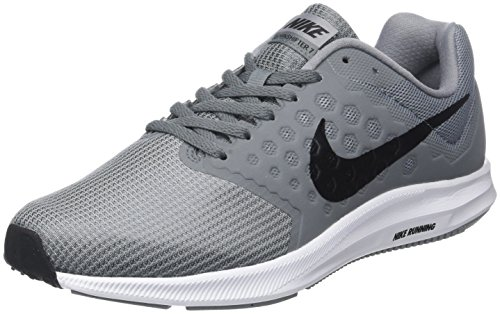 Nike Downshifter 7, Chaussures de Running Homme, Gris (Stealth/Black-Cool Grey-White), 42 EU
