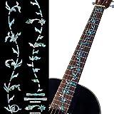 Jockomo ツリー・オブ・ライフ アバロンMIX ギターに貼る インレイステッカー