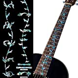 Pegatinas para trastes de guitarras – Árbol de la vida – Mezcla de abulones, FT-050TG-MX
