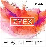 D'Addario Zyex コントラバス弦 セット DZ610