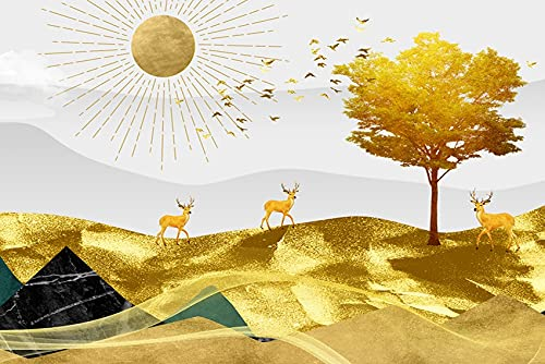 DIY Kit de Pintura Diamante 5D Taladro Completo Árbol de la fortuna Cristal Rhinestone Diamond Painting Large Full Drill Adulto Bordado Punto de Cruz Art Home Salón Decor de Pared 60x160cm